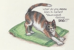 Art with Cattitude greeting cards