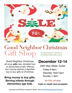 NETWorks - Good Neighbor Christmas 2014 shopper flier-page-0