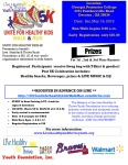 Live Healthy & Thrive Unite For Healthy Kids 5k May 16